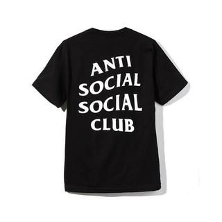 アンチ(ANTI)のXS ブラック ANTI SOCIAL SOCIAL CLUB ロゴ Tシャツ(Tシャツ/カットソー(半袖/袖なし))