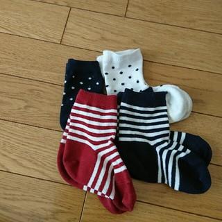 ムジルシリョウヒン(MUJI (無印良品))の無印 靴下 4組