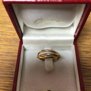 カルティエ(Cartier)のヴィンテージ カルティエ (Cartier) トリニティ 1960年代物(リング(指輪))