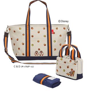 ディズニー(Disney)のROOTOTE × Disney限定コラボマザーズバッグ♡チップ&デール(マザーズバッグ)