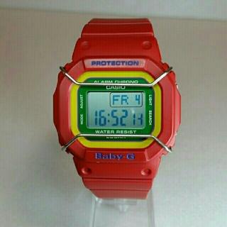 ベビージー(Baby-G)のBaby-G レッド  (腕時計)