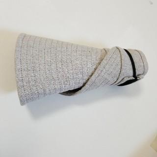 ムジルシリョウヒン(MUJI (無印良品))の無印 くるくるサンバイザー 帽子 洗濯 クール 折り畳み ハット 無印良品(麦わら帽子/ストローハット)