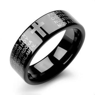 メンズ クロス リング アクセサリー(リング(指輪))