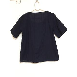 ムジルシリョウヒン(MUJI (無印良品))のトップス 無印良品(Tシャツ(半袖/袖なし))