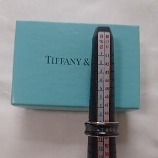 ティファニー(Tiffany & Co.)のティファニー シルバーリング ブラックチタン(リング(指輪))