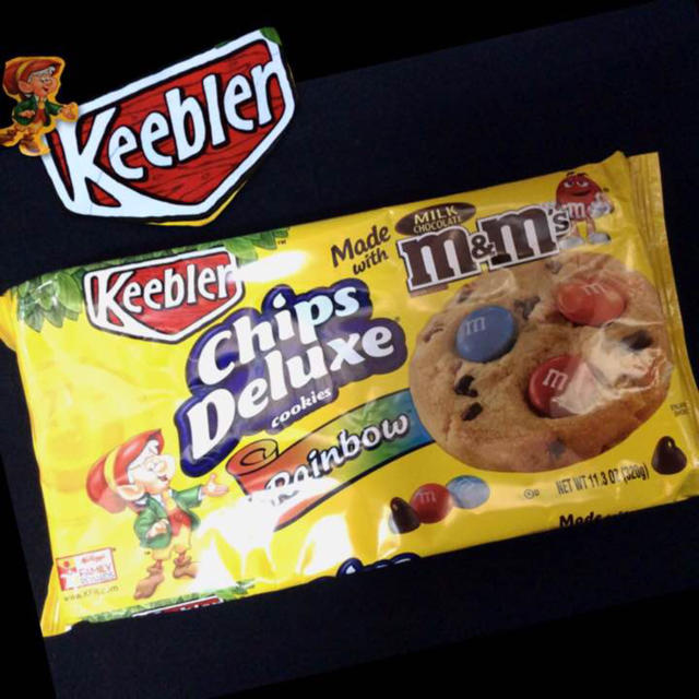 keebler chips deluxe rainbow キーブラー クッキーの通販 by