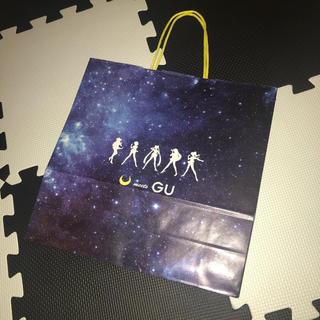 ジーユー(GU)の【非売品・美品】セーラームーン コラボショッパー(ショップ袋)