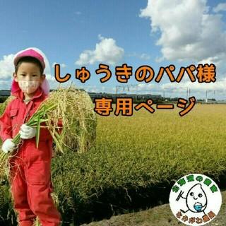 しゅうきのパパ様専用ページ(米/穀物)