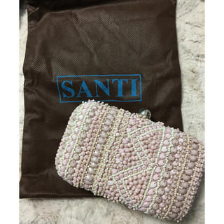 サンティ(SANTI)の【未使用・送料込】santi クラッチバッグ(クラッチバッグ)