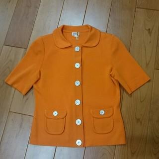フォクシー(FOXEY)のSugiさま専用♪美品フォクシー⭐半袖ニットジャケット40(テーラードジャケット)