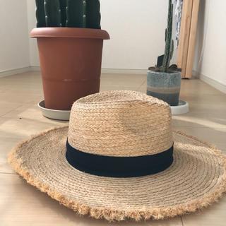 ルームサンマルロクコンテンポラリー(room306 CONTEMPORARY)のラフィアハット(麦わら帽子/ストローハット)
