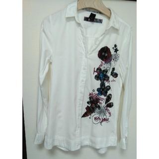 デシグアル(DESIGUAL)のデシグアル 刺繍シャツ(シャツ/ブラウス(長袖/七分))
