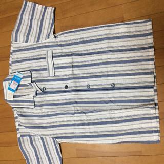 シマムラ(しまむら)の新品 、メンズM、サッカー生地シャツ(シャツ)