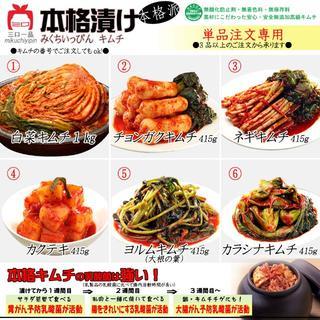 単品注文 (3品からのご注文でお願いします!)(野菜)