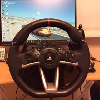プレイステーション(PlayStation)のハンドルコントローラ ハンコン(PC周辺機器)