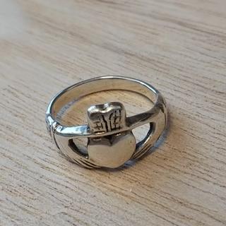 伝統✨ヴィンテージ アイルランド伝統のクラダリング(シルバー925)[P128](リング(指輪))