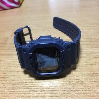 G SHOCK GW-M5610NV ネイビー 美中古品