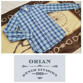 オリアン(ORIAN)の美品/イタリアの遊び心満載ちょいアメカジORIAN オリアンチェックシャツ(シャツ)
