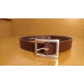 グレンロイヤル(GLENROYAL)のグレンロイヤル ブライドルレザーベルト チョコレートブラウン 30インチ(ベルト)
