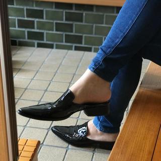 リミフゥ(LIMI feu)のリミフゥ ローファー風サンダル(ローファー/革靴)