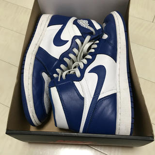 ナイキ(NIKE)のNIKE AIR JORDAN STORM BLUE ジョーダン 27(スニーカー)