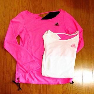 アディダス(adidas)のadidas  スポーツウェア♥️(Tシャツ(長袖/七分))