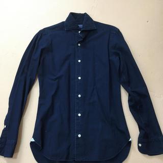 バルバ(BARBA)の美品  BARBA DANDY LIFE  ダンガリーシャツ サイズ37(シャツ)
