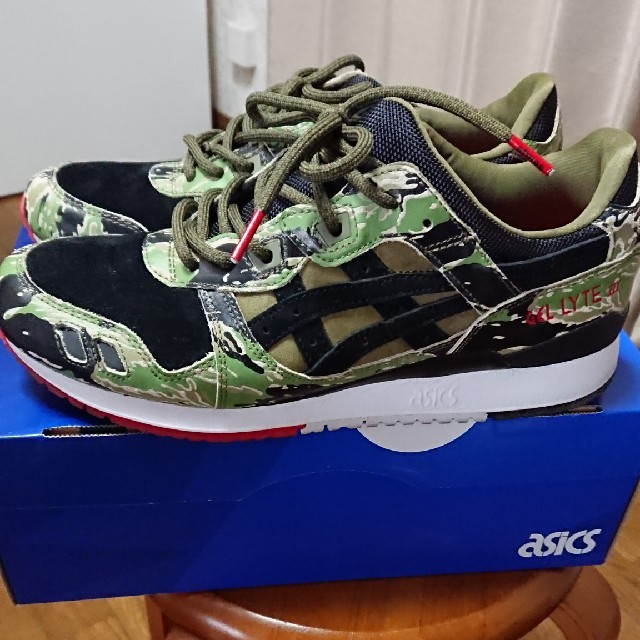 plus récent f21d6 441a3 タイムセールasics gel light 3 atoms camo 27.5 | フリマアプリ ラクマ