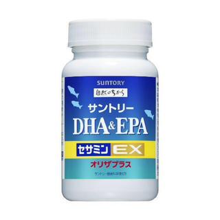 サントリー(サントリー)のDHA&EPA+セサミンEX(ダイエット食品)