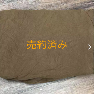 ムジルシリョウヒン(MUJI (無印良品))の無印良品 ダブル掛け布団カバー モカ茶(シーツ/カバー)