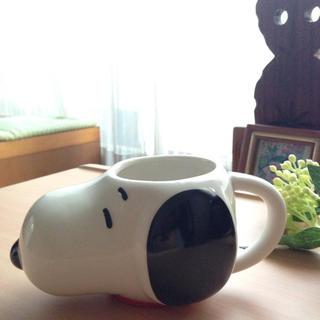 ピーナッツ(PEANUTS)のスヌーピー マグカップ 顔マグ(グラス/カップ)