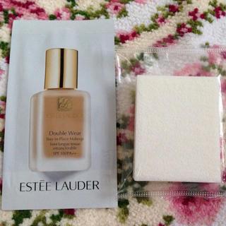 エスティローダー(Estee Lauder)のエスティーローダー ファンデーション サンプル  スポンジ付き(ファンデーション)