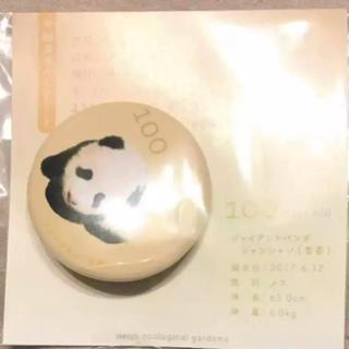 【値下げ!】激レア非売品 シャンシャンバッジ(キャラクターグッズ)