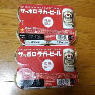 サッポロ(サッポロ)のちい様専用 サッポロ ラガービール 350ml×12本(ビール)