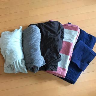 ムジルシリョウヒン(MUJI (無印良品))の無印良品  掛け布団カバー2点  ボックスシーツ3点 枕カバー1点(シーツ/カバー)