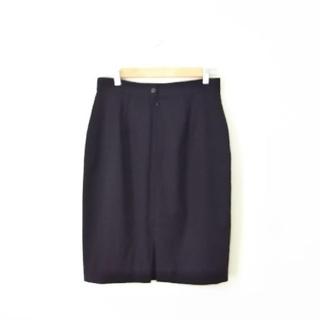 ロロピアーナ(LORO PIANA)のロロ・ピアーナ  ランバン黒のスカート(ひざ丈スカート)