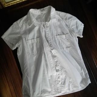 ムジルシリョウヒン(MUJI (無印良品))の無印半袖シャツ(シャツ/ブラウス(半袖/袖なし))