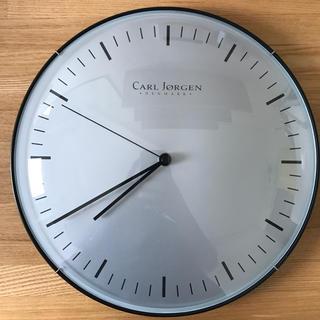 アクタス(ACTUS)の【美品】北欧 デンマーク CARL JORGEN 掛時計(掛時計/柱時計)