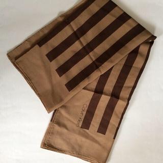 カルバンクライン(Calvin Klein)のカルバン・クライン シルク スカーフ used(バンダナ/スカーフ)