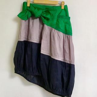 ツモリチサト(TSUMORI CHISATO)の新品  TSUMORI CHISATO   変型スカート   M(ひざ丈スカート)