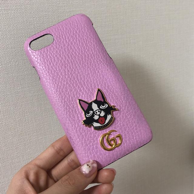 Iphone モバイルバッテリー - Gucci - GUCCI iPhone7ケース の通販 by mi30's shop|グッチならラクマ
