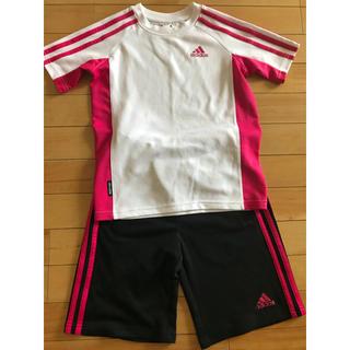 アディダス(adidas)のアディダスadidas Tシャツハーフパンツ セット130(パンツ/スパッツ)