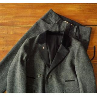 サンシー(SUNSEA)のsunsea 16aw British Wool セットアップ(Black)(その他)