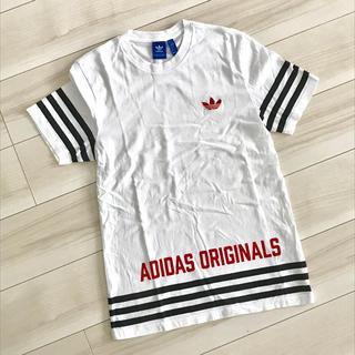 アディダス(adidas)のアディダス adidas Tシャツ ボーダー(Tシャツ/カットソー(半袖/袖なし))