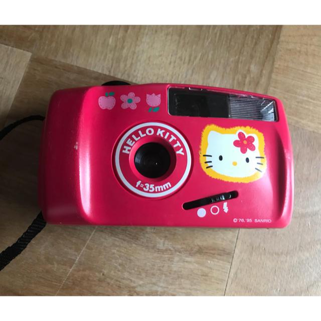 ハローキティ(ハローキティ)のハローキティ カメラ スマホ/家電/カメラのカメラ(フィルムカメラ)の商品写真
