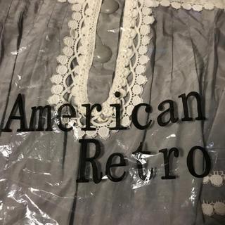 アメリカンレトロ(AMERICAN RETRO)の軽くて着やすいと思います。長さは83cmです。(ミニワンピース)