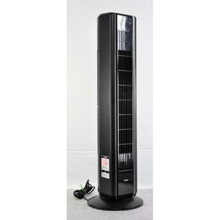 ツインバード(TWINBIRD)のタワーファン ツインバード EF-0989黒 高さ92cm程 中古品(サーキュレーター)