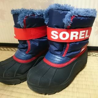ソレル(SOREL)のSOREL 子供用スノーブーツ 18cm~19cm SNOW COMMANDER(ブーツ)