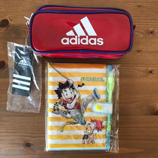 アディダス(adidas)のアディダス ペンケース&サバイバル手帳(ペンケース/筆箱)