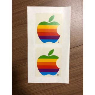 アップル(Apple)の希少 Apple computer ロゴシール(ノベルティグッズ)